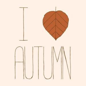 heart autumn