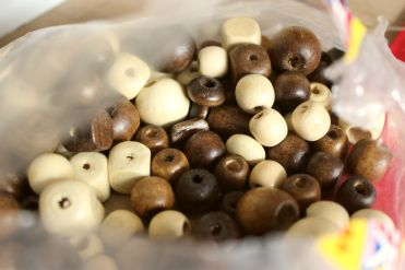 Beads I had in my craft supplies.